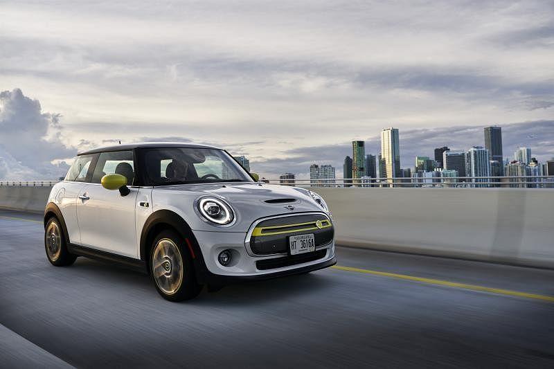 MINI纯电动车将在今年第三季面市。(车商提供)