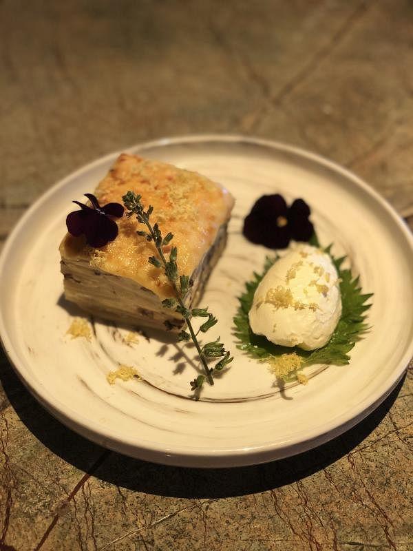 法式香焗双薯