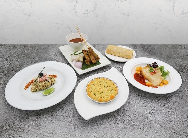 良木园酒店国庆外卖,让食客在家自己办自助餐。