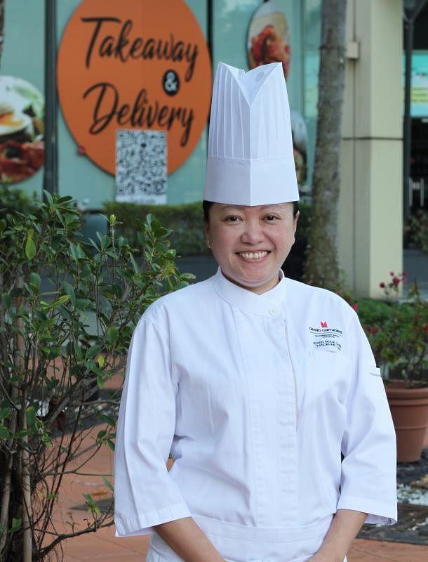 陈鳼倢受电视烹饪节目《甄能煮》启发,立志当厨师。