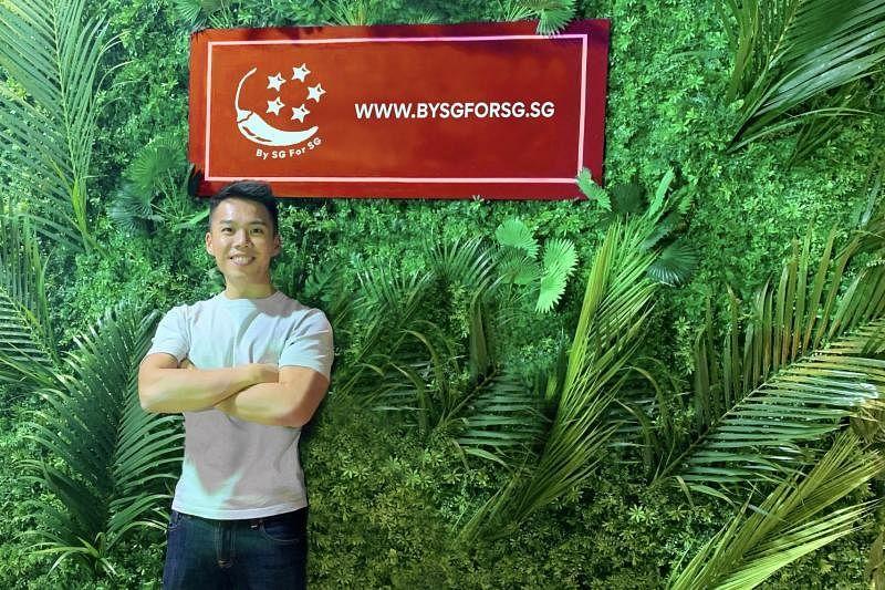 王世杰说,BySGForSG以有竞争力且公平的送餐方式协助小贩继续营业。