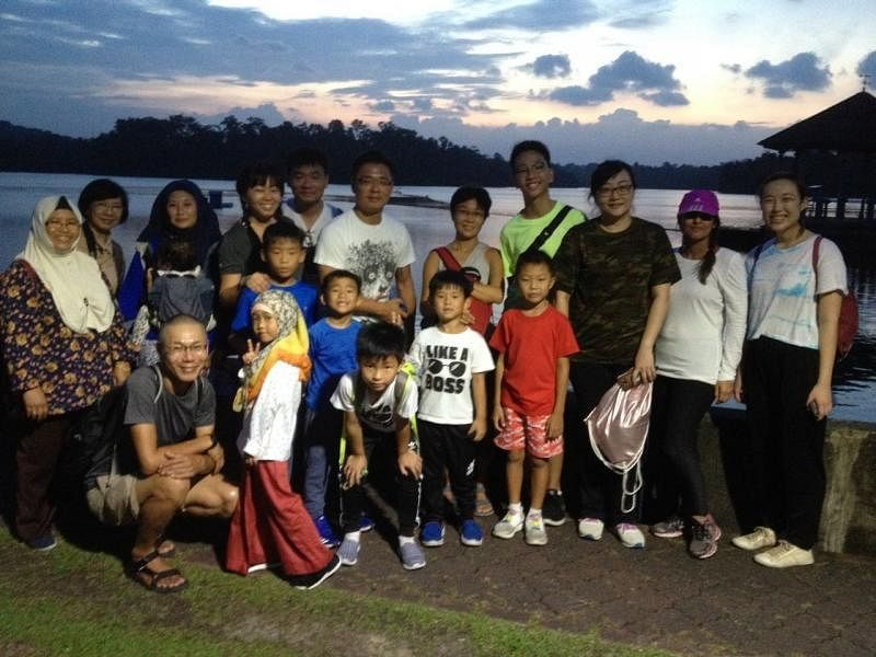 Cicada Tree Eco-Place将心系环境课题的新加坡人,不分种族或宗教,都聚在一起。(受访者提供)