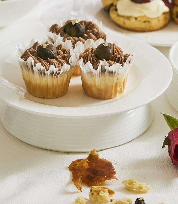 栗子蛋糕是张爱玲和闺蜜炎樱秋天下午茶不可少的甜点。
