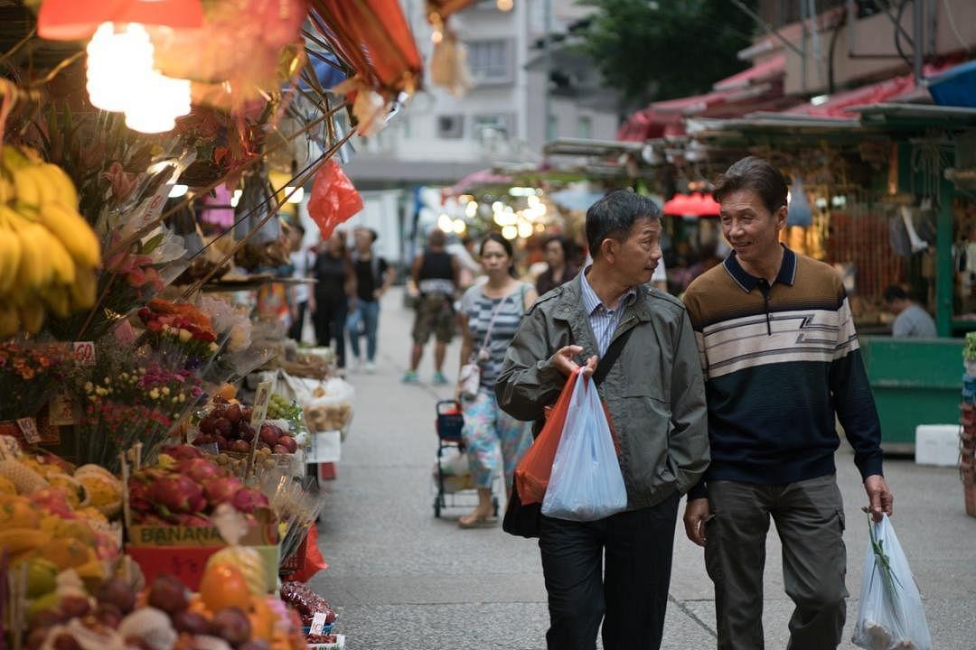闭幕片《叔·叔》由袁富华(左)和太保主演。(SCFF提供)