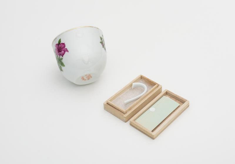 Atelier HOKO鼓励物主用新的角度接受没柄的茶杯。
