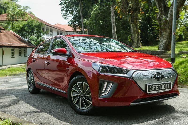 Hyundai Ioniq耗电量为11.7kWh/100km,续航行程为311公里。(档案照)