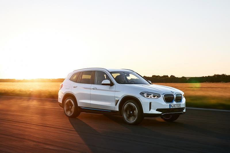 BMW iX3今年第三季来到我国。(车商提供)