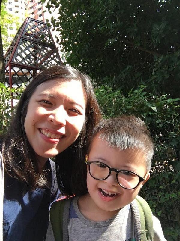 李美燕说,儿子参与MEPI后,在课堂上更专注学习。(受访者提供)