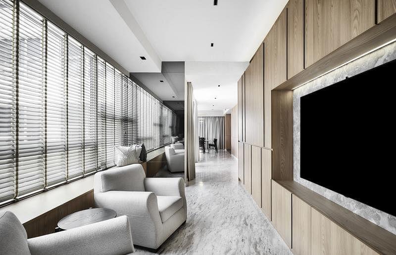 屋主为父母打造专用起居室,让他们拥用自己的空间,安享清福。