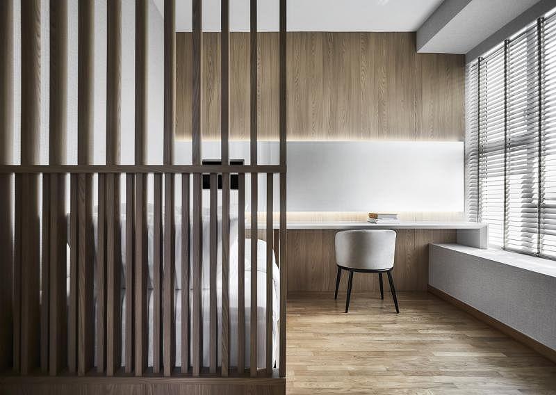 屋内空间宽敞,连客房也极舒适、宽敞。