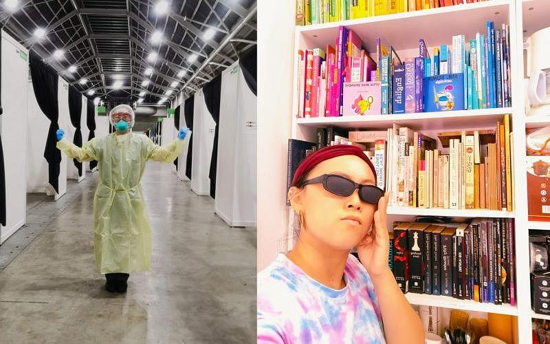 张惠平选择更加灵活的工作方式拓展自我,她是护士、二手店创业者、临时演员。