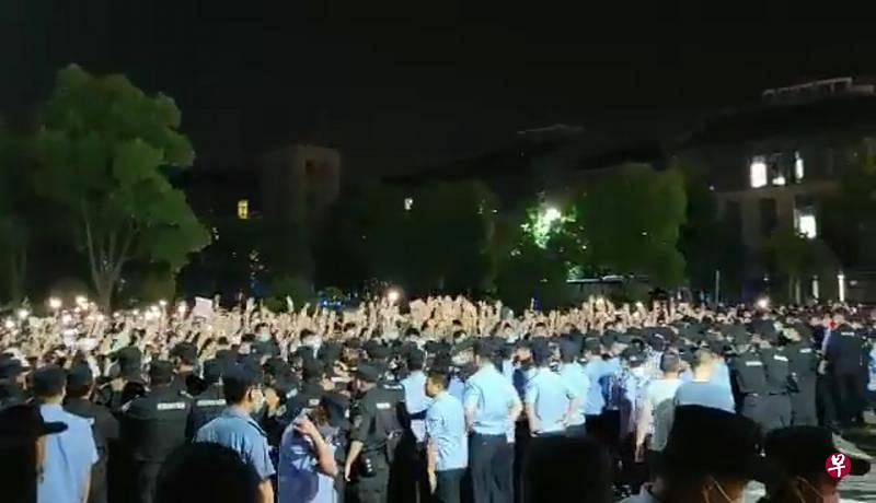 优享资讯| 江浙多所独立学院学生示威抗议不满被合并为职业大学