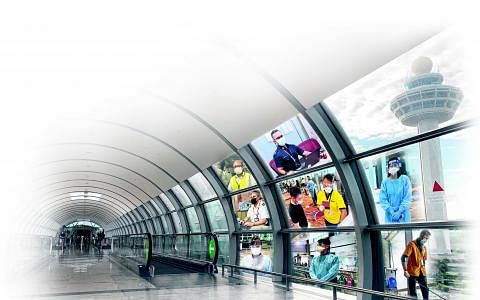照片提供:樟宜机场集团、新加坡民航局、移民与关卡局、新翔集团、酷航、策安、dnata