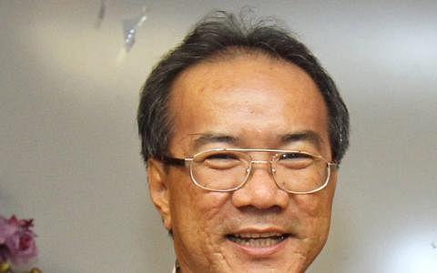 新加坡海南会馆会长潘家海也是天后宫的董事,他以个人名义发起这场诉讼。(档案照片)